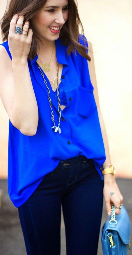 18+ Royal blue shirt women ideas ideas