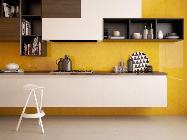 Materiales para la pared de la cocina interceramic - Materiales de cocinas ...
