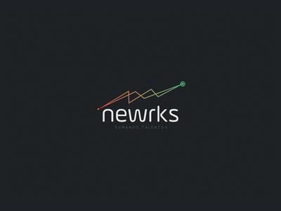 Newrks Logo Inspiration Creative Professional Inspiration