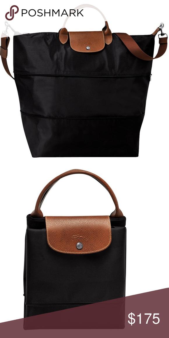 Longchamp Le Pliage Travel Bag (Black) Longchamp Le Pliage Travel Bag  (Black) b0b569b2c8