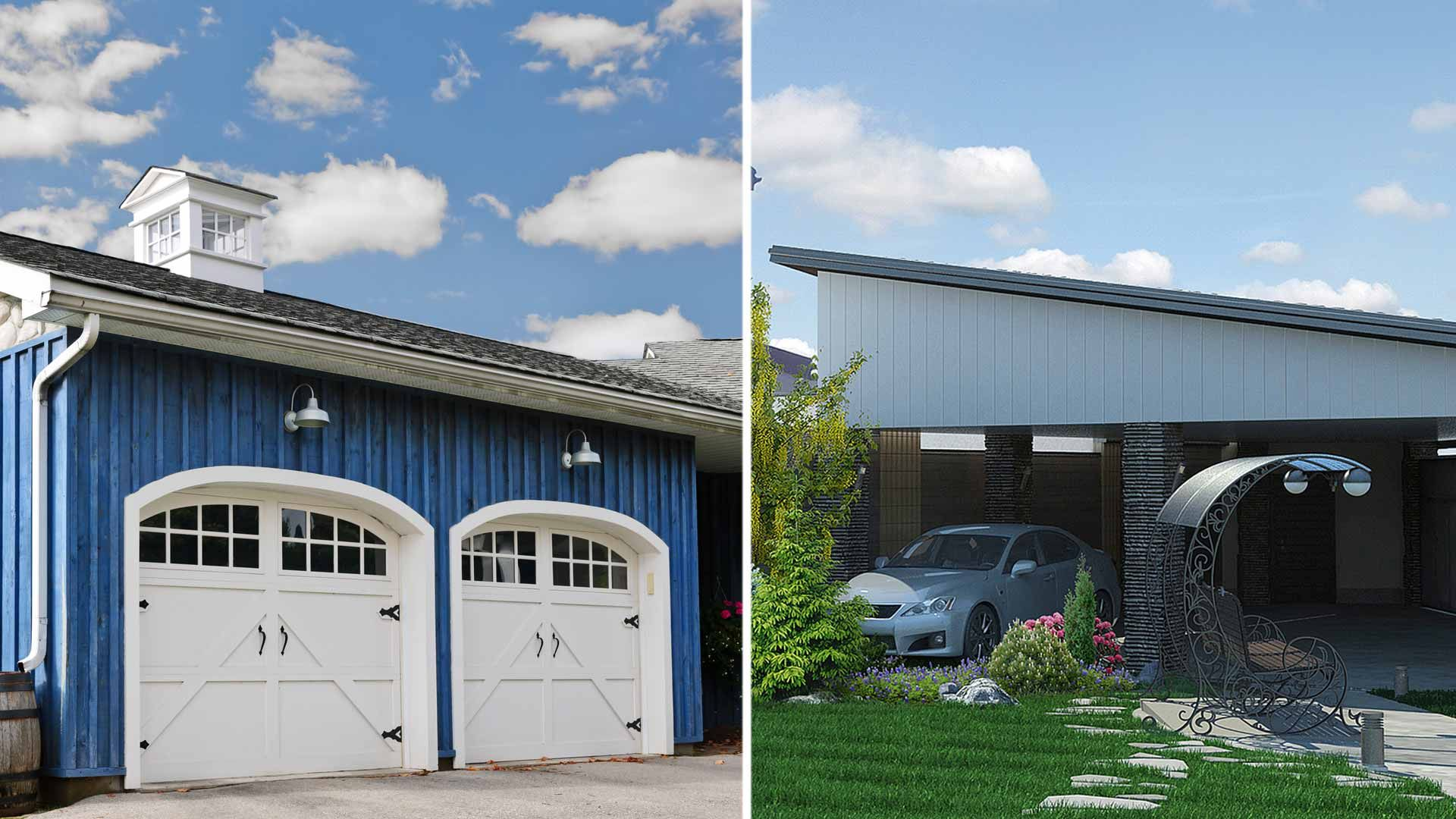 Garages vs. Carports Which is best for you? Building a