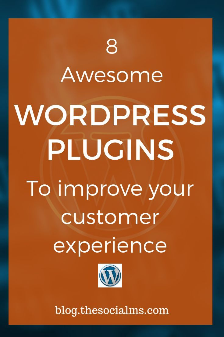 8 Awesome WordPress Plugins That Greatly Enhance User Experience #userexperience