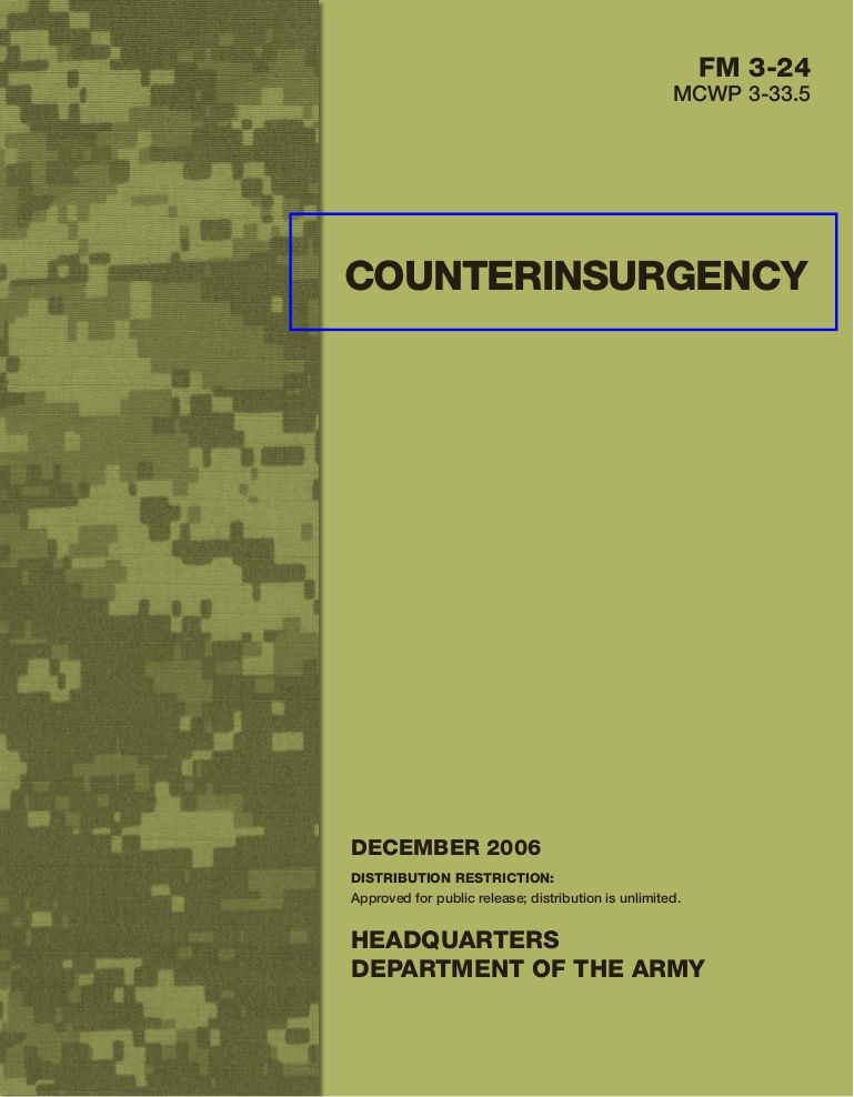 Counterinsurgency A U S Army Field Manual By Brian Charles Via Slideshare With Images Tyranny