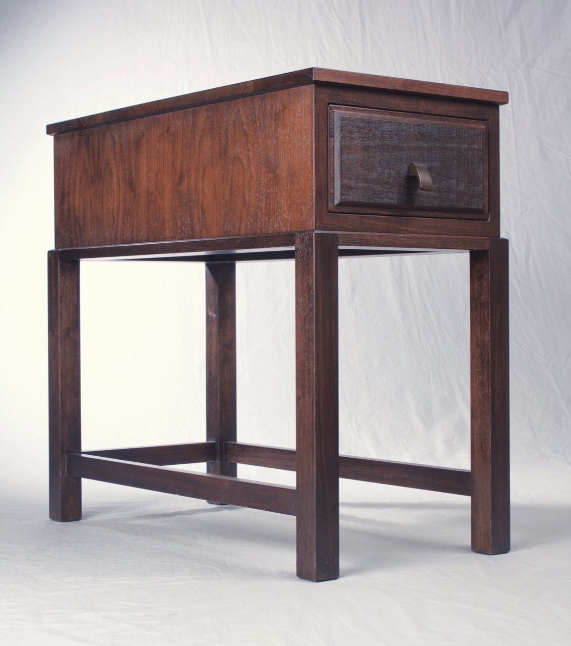Modern wood side table  Modern side table by Schick Furniture This side table is a great