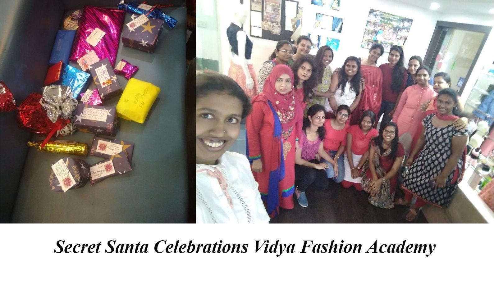 Santa Celebration At One Of The Best Fashion Designing Institute In Bangalore Fashion Designing Institute Celebrities Fashion