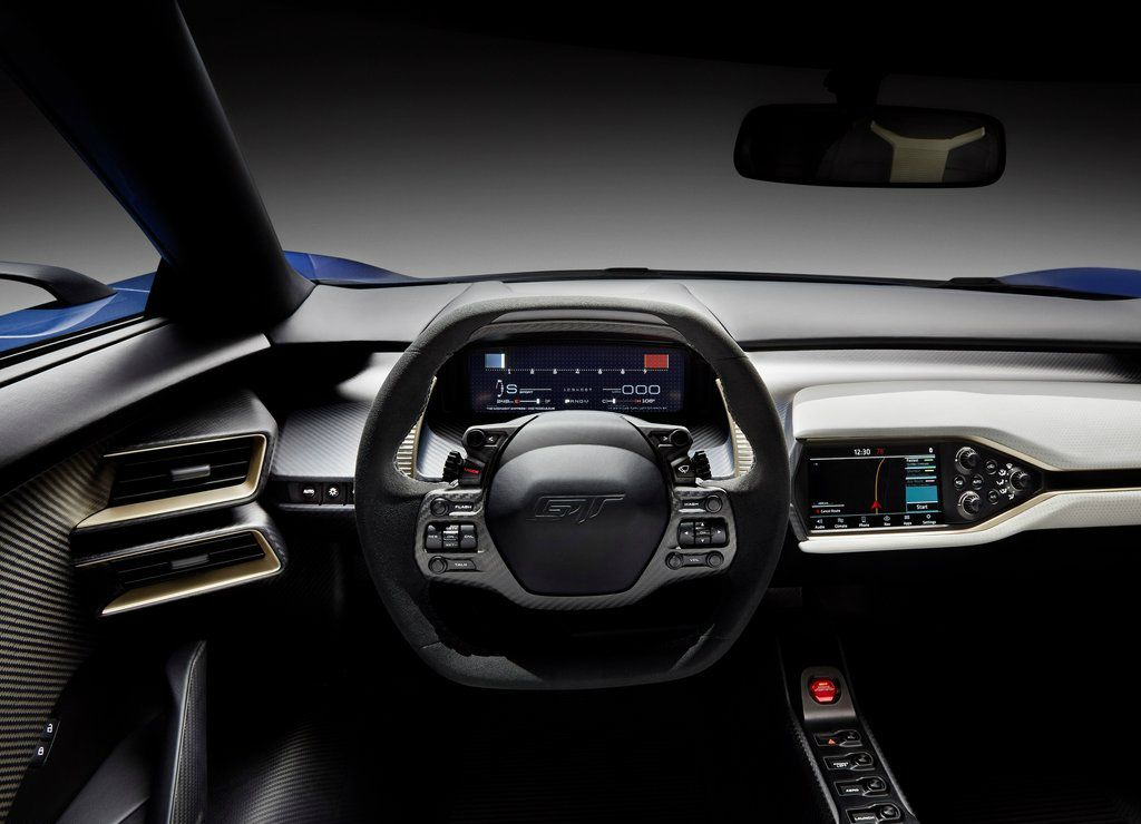 Ford Gt 2016 Interior Naias Ford Gt Ford Gt 2016