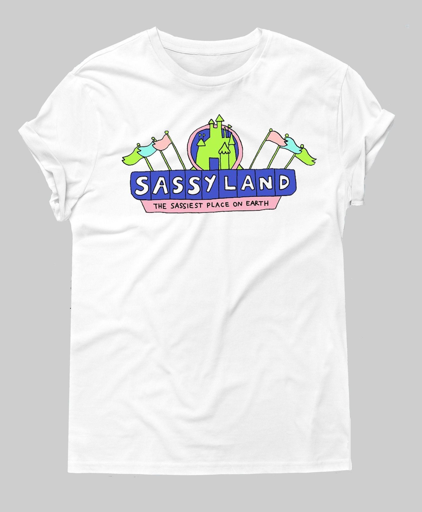 Sassy Land Tee – Hipster Tops  fc159da4b5