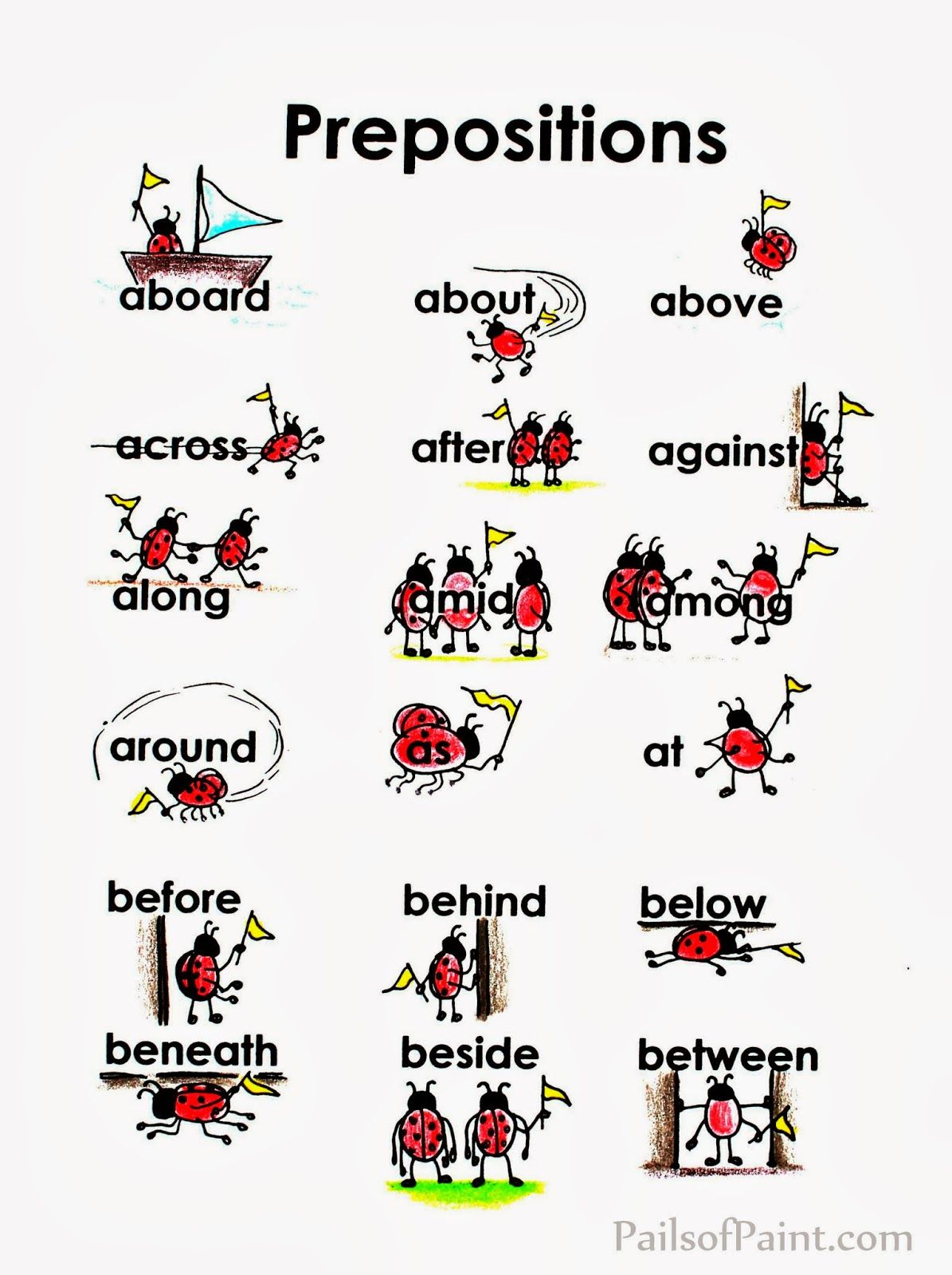 Free Prepositions Printable Quoteducation Is Not The