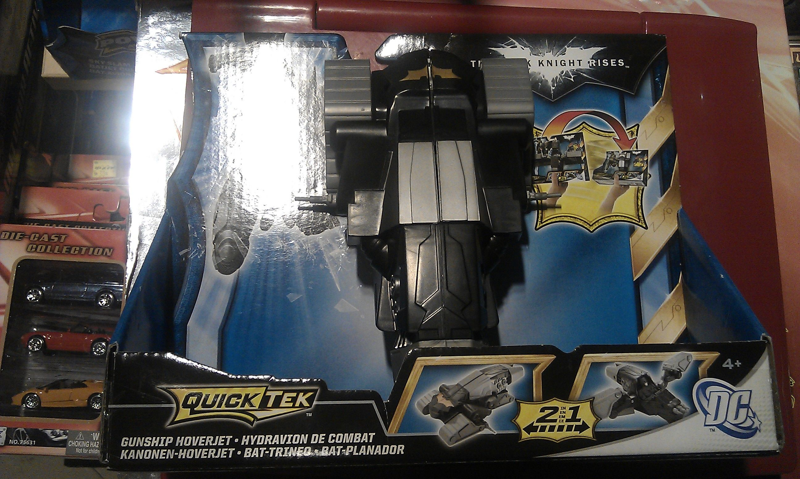Batman The Dark Knight Rises - Quicktek Gunship Hoverjet