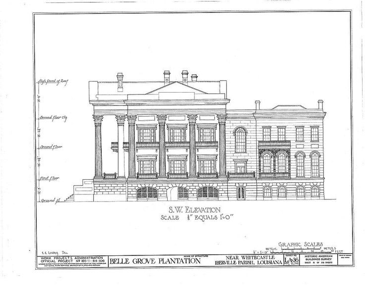 belle grove plantation louisiana floor plans - imageck