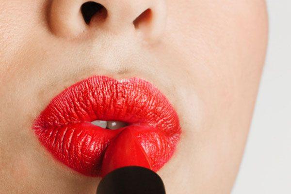 Red Lips Big Tips Makeup Lipstick Lips Lip Colors