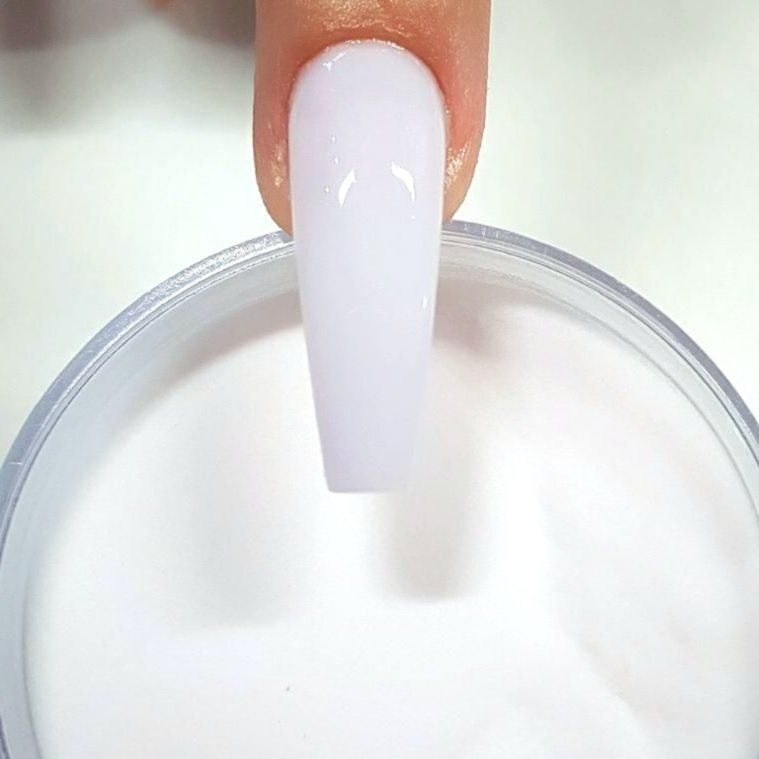 Soft White Acrylic Nails Picture End Result For Mushy White Acrylic Powder Picture End Result F With Images White Acrylic Nails Acrylic Nail Powder Acrylic Nails