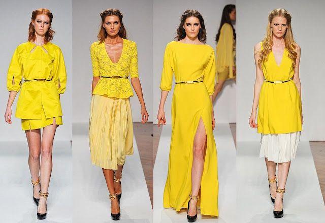 Yellow, Yellow, Yellow | Normaluisa Spring 2012 RTW