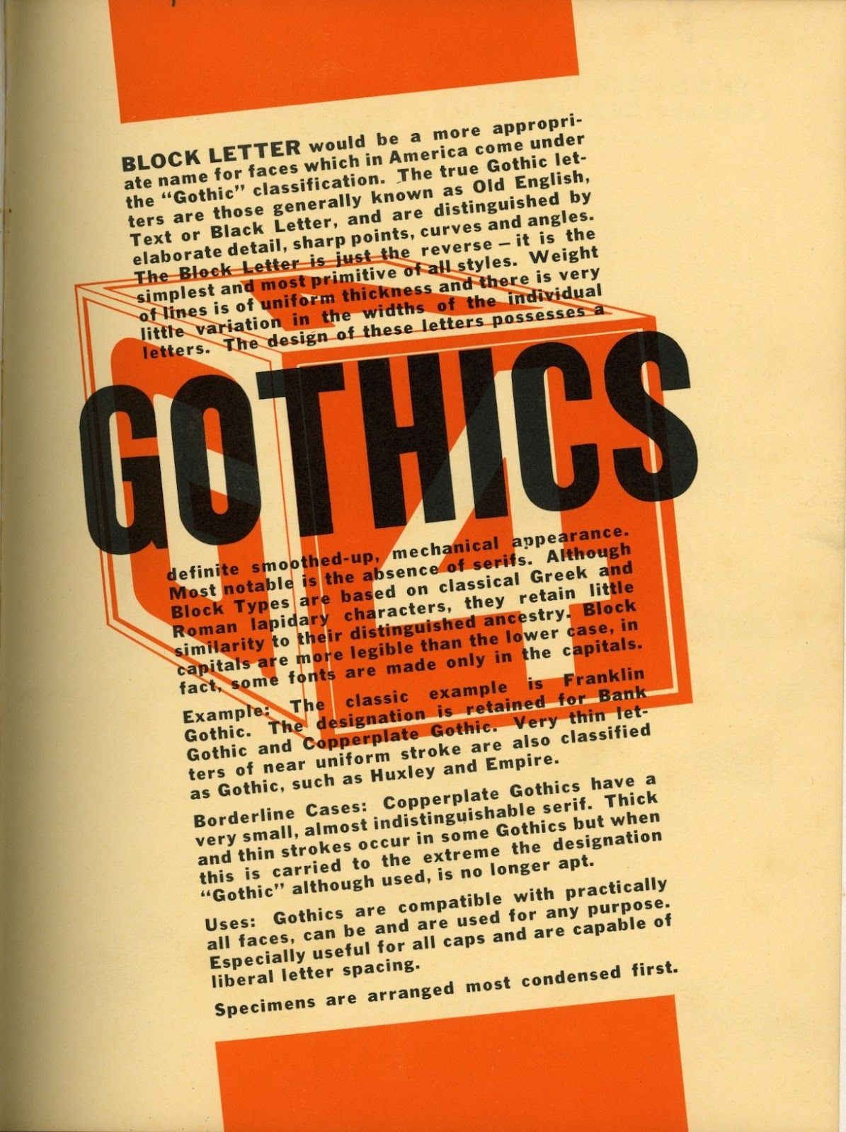 Vintage Technology Obsessions: Type Specimen Book - Western Typesetting