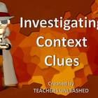 This 30-slide presentation provides you with a thorough investigation into the mystery of solving context clues.  Students will aid the investigato...