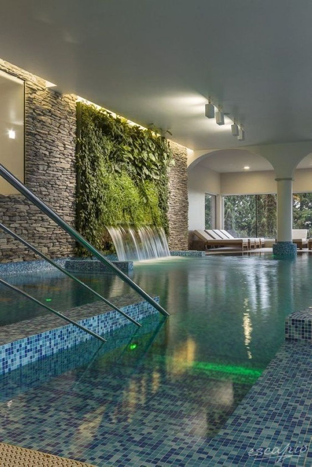 30 Awesome Swimming Pool Garden Design Ideas Indoor Swimming Pool Design Luxury Swimming Pools Cool Swimming Pools