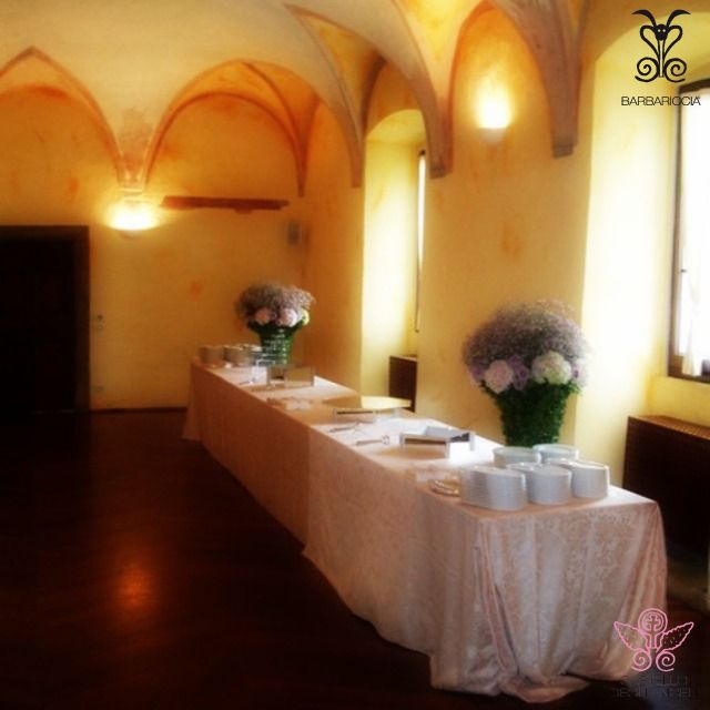 Aperitivo a Buffet in Sala Affreschi @CastleOfAngels #Barbariccia #Restaurant #Banchetto #Buffet #Sala #Affreschi