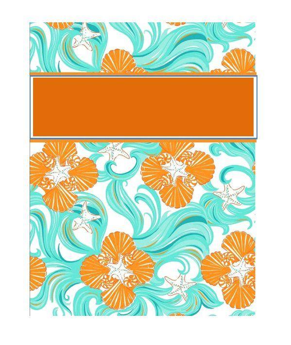 35 Beautifull Binder Cover Templates ᐅ Cute Binder Covers