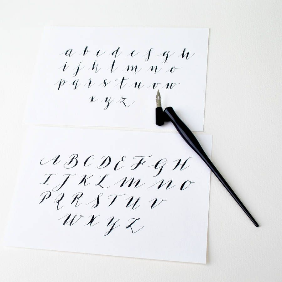 Calligraphy alphabet google search