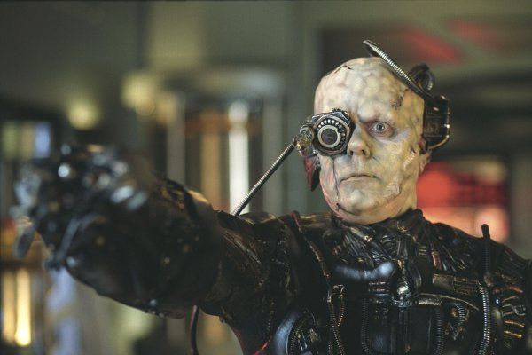 Borg Drone from Star Trek: First Contact, 1996.