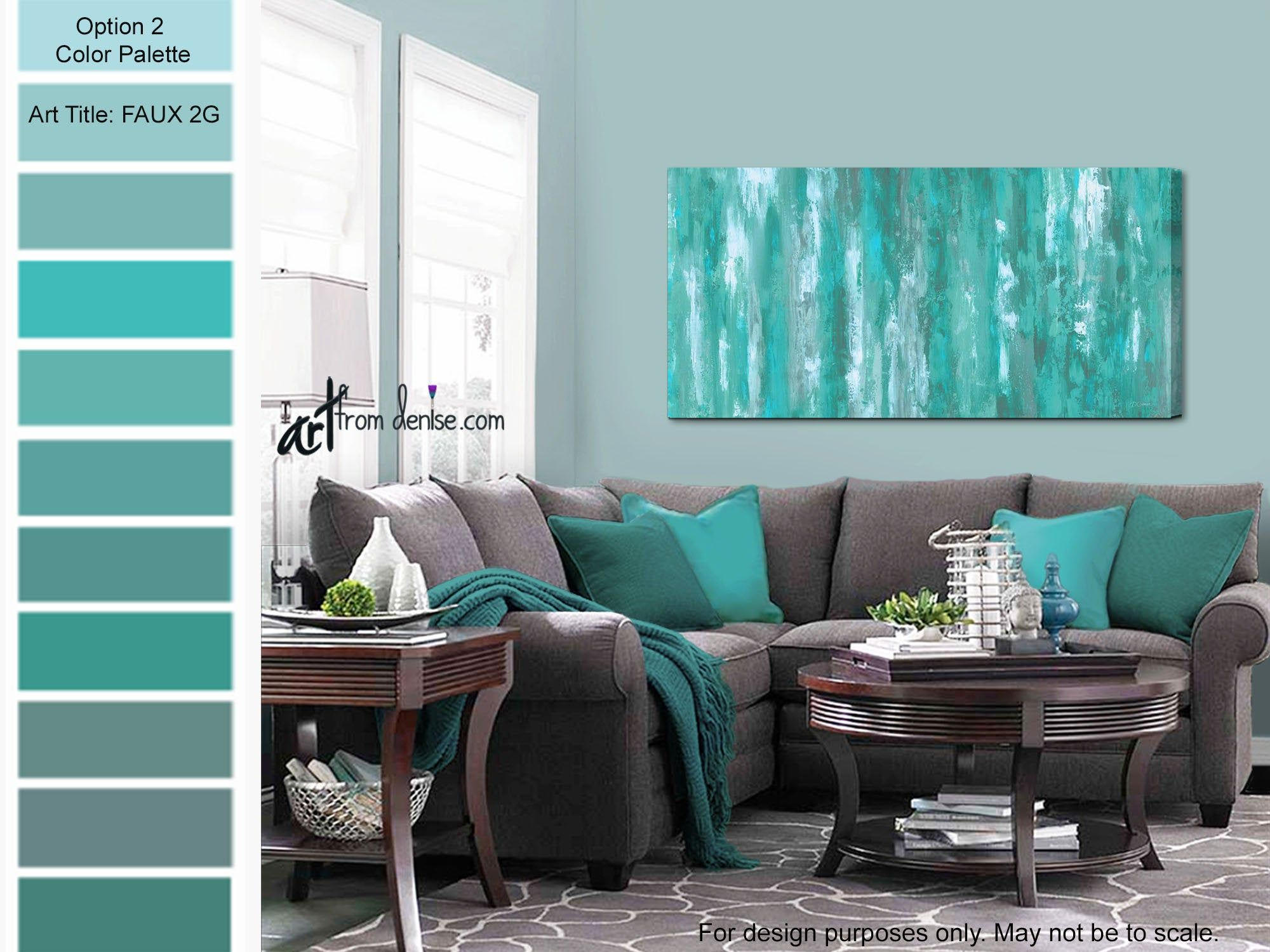Gray Green Teal Wall Art Canvas Abstract Bedroom Wall Decor Etsy In 2020 Living Room Turquoise Navy Blue Living Room Blue Walls Living Room,Simple South Indian Baby Shower Decorations