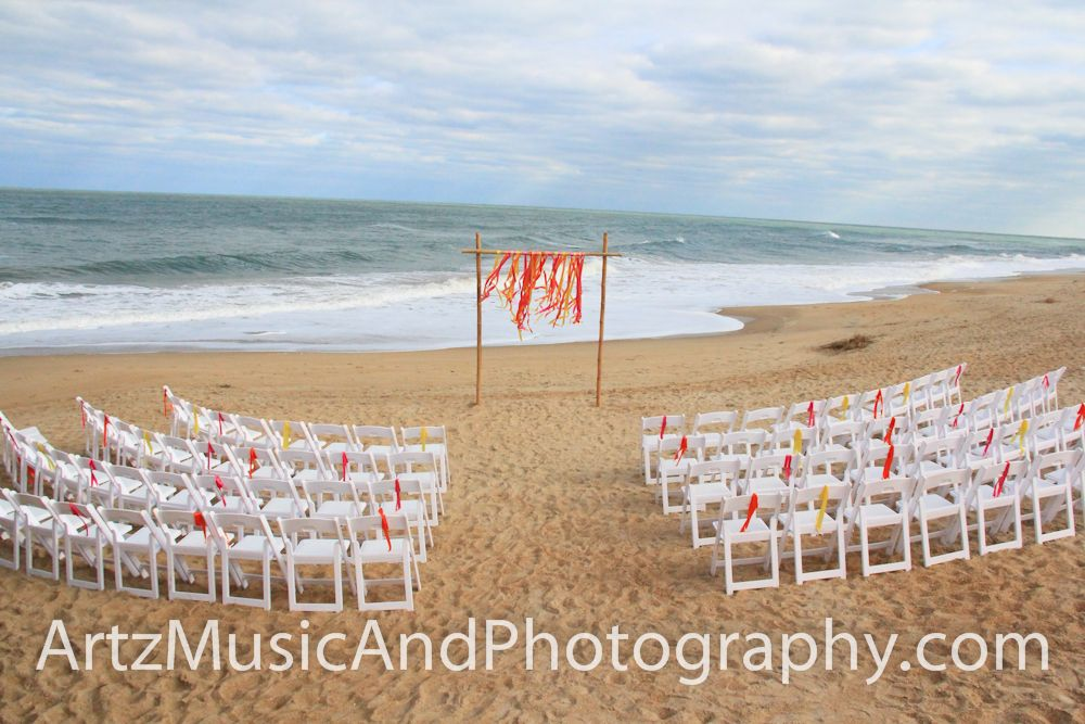 Beach wedding ceremony set up | Beach Wedding Ceremony ...