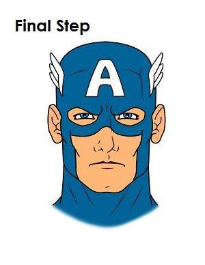 Pin by Kalen Davis on Superhero birthday   Marvel drawings, Captain
