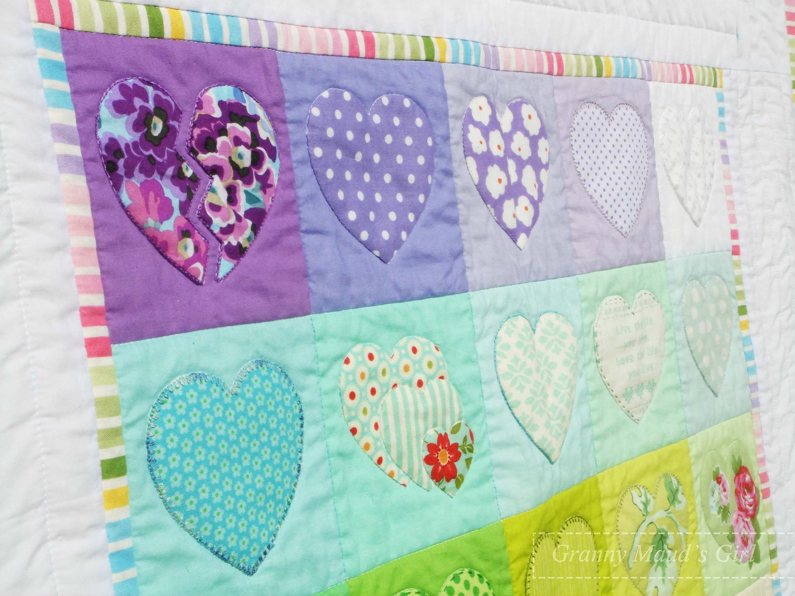 Appliqué rainbow baby quilt quilts baby quilts quilts rainbow baby