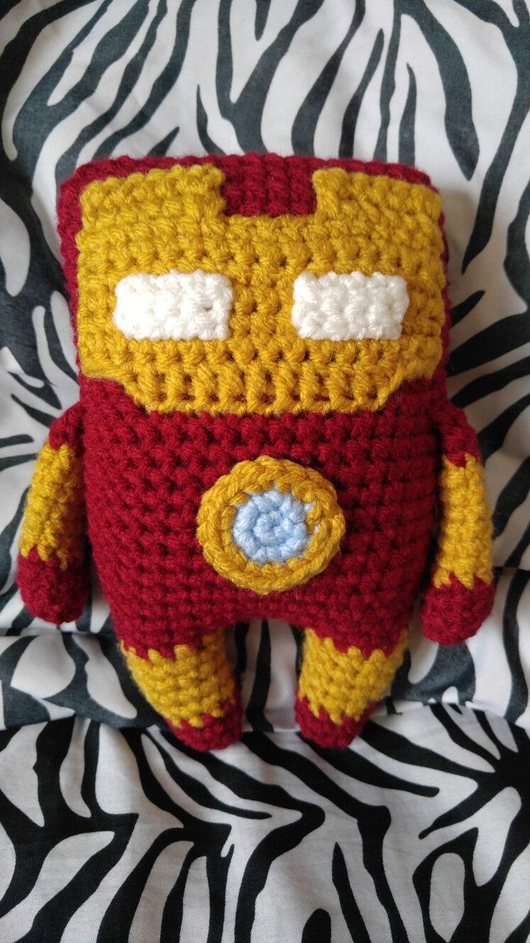 Amigurumi Ironman   Crochet, Crochet hats, Pattern