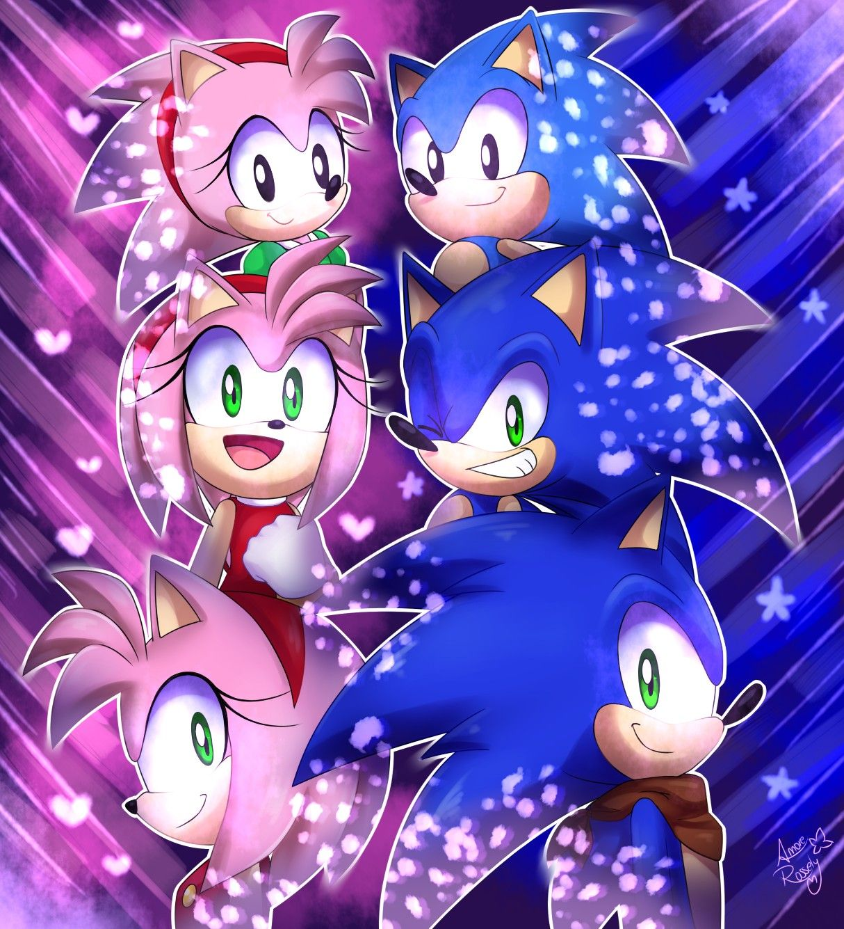 Somewhere In the doujin world | Sonic the Hedgehog