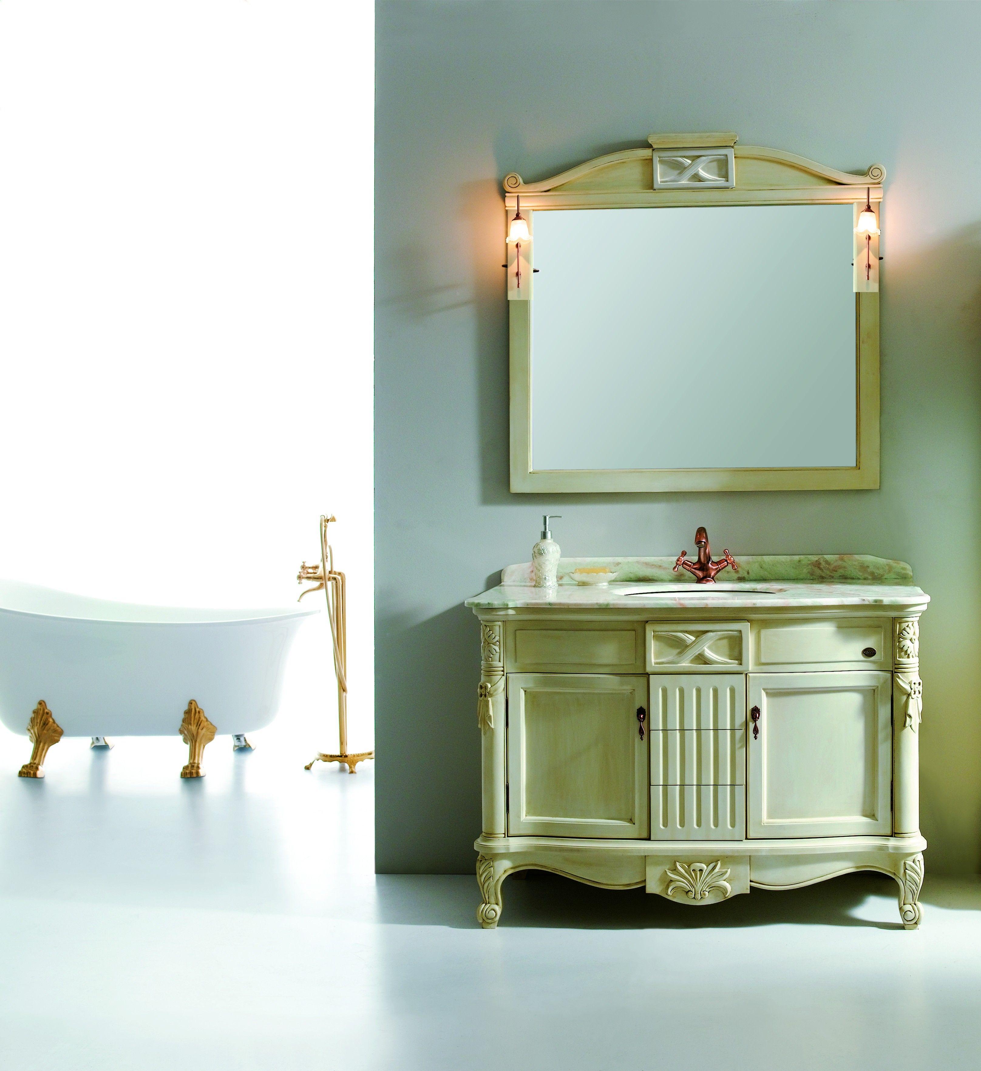 GM10-16 Antique Classic bathroom vanity cabinet 45 ...