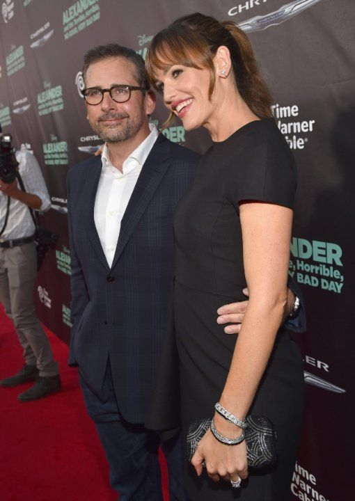 Jennifer Garner And Steve Carell At Event Of Alexander Y Un Dia