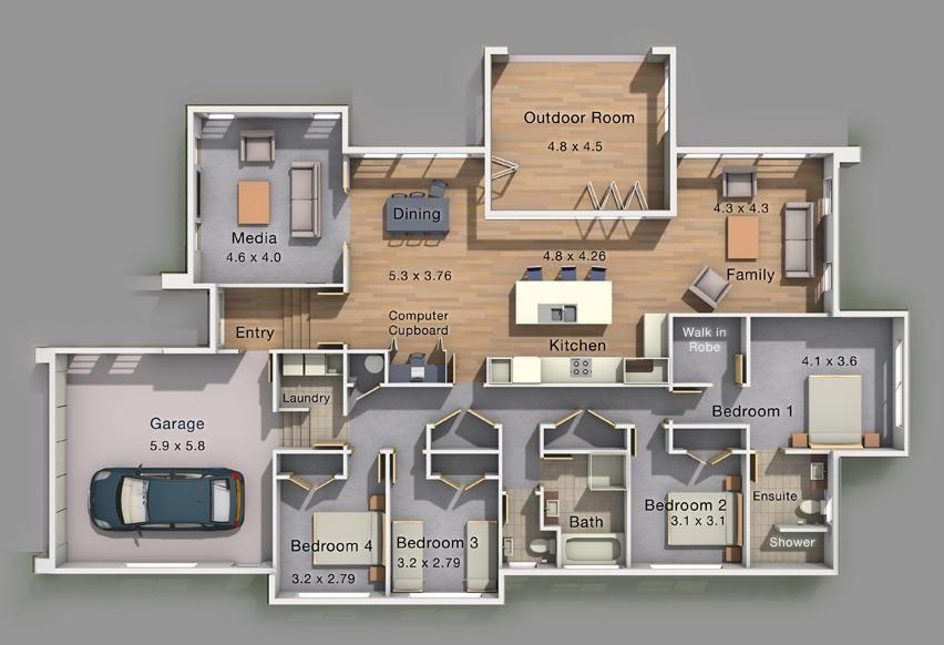 Aniston Executive Floor Plan Luxury houses plans Pinterest