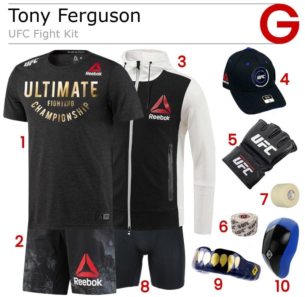 Transform your look with Ferguson's Reebok UFC Walkout