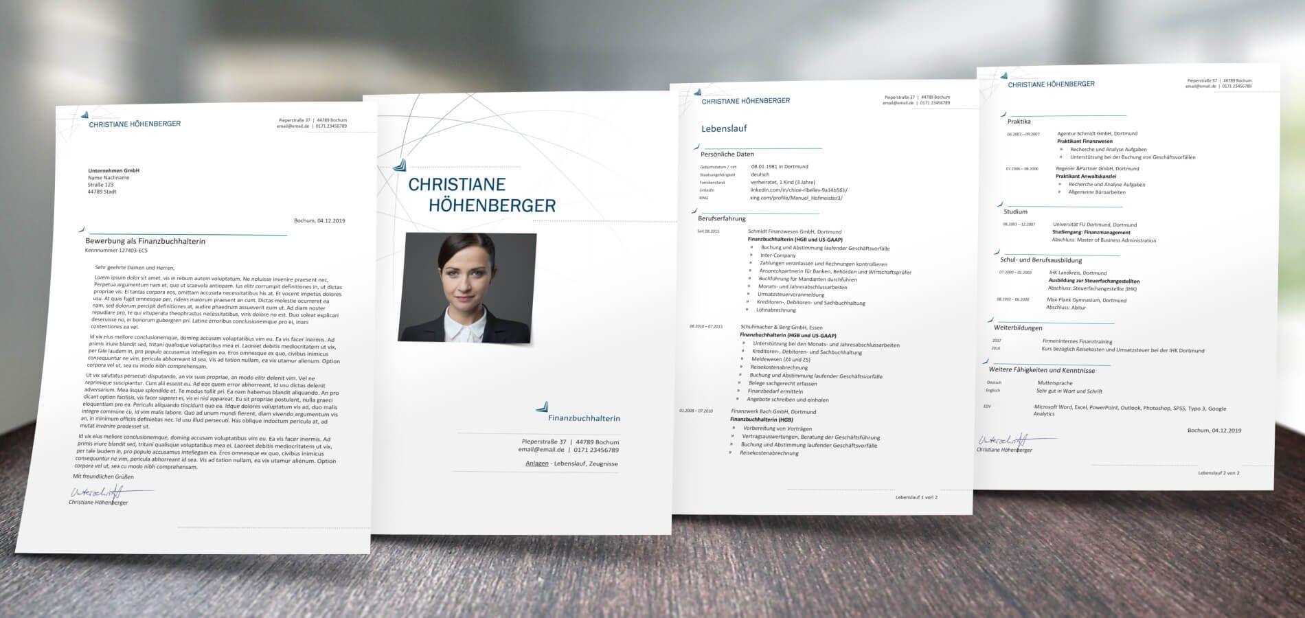 Aufbau Lebenslauf Und Bewerbung Design In 2020 Invitation Cards