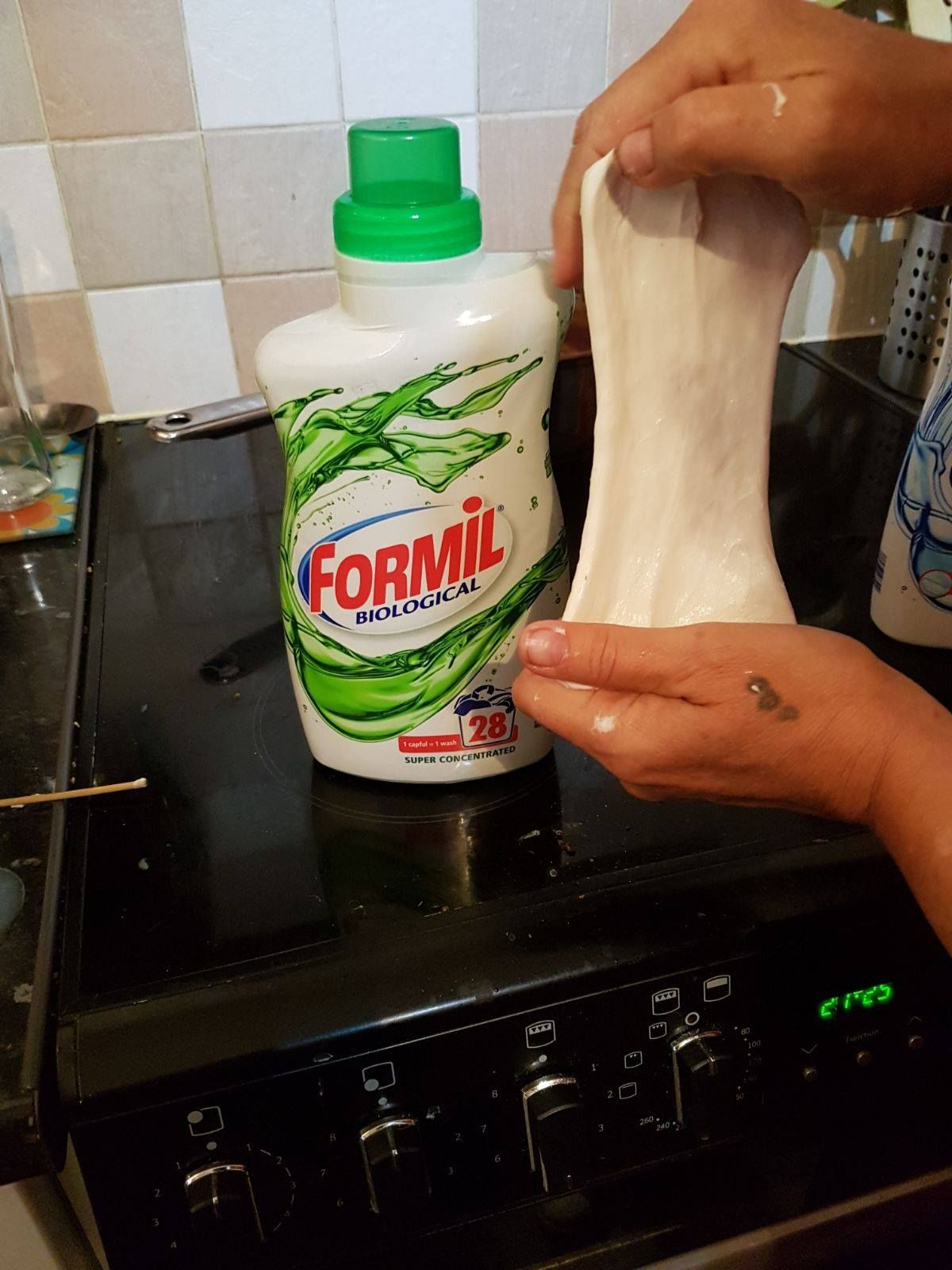 Make Slime With Laundry Detergent Liquid Starch Alternative For