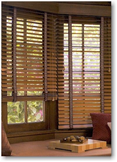 Image Result For Faux Wood Blinds With Cloth Tape