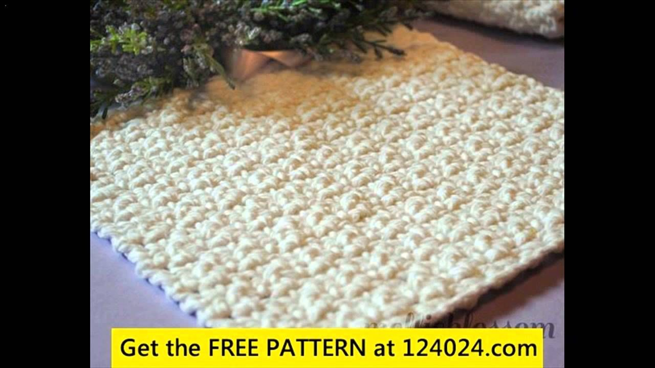 c2c crochet dishcloth - YouTube | Crochet or Knit It | Pinterest