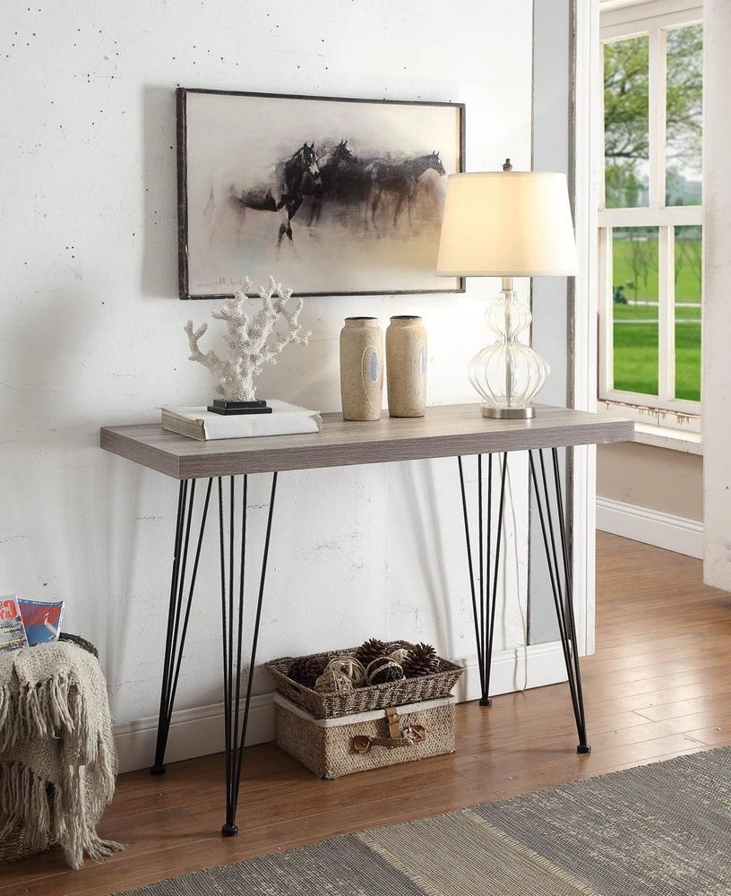 Ebay Console Table For Entryway Furniture Modern Wood