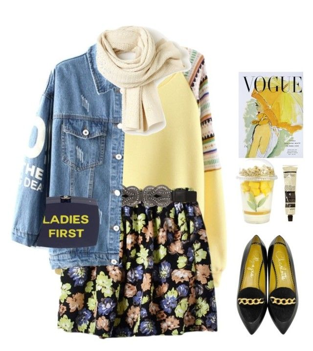 """*1323"" by cutekawaiiandgoodlooking ❤ liked on Polyvore featuring maurices, Charlotte Olympia, Aesop, MANGO, Lacoste, Art for Life, cute, weekendstyle and bhalo"