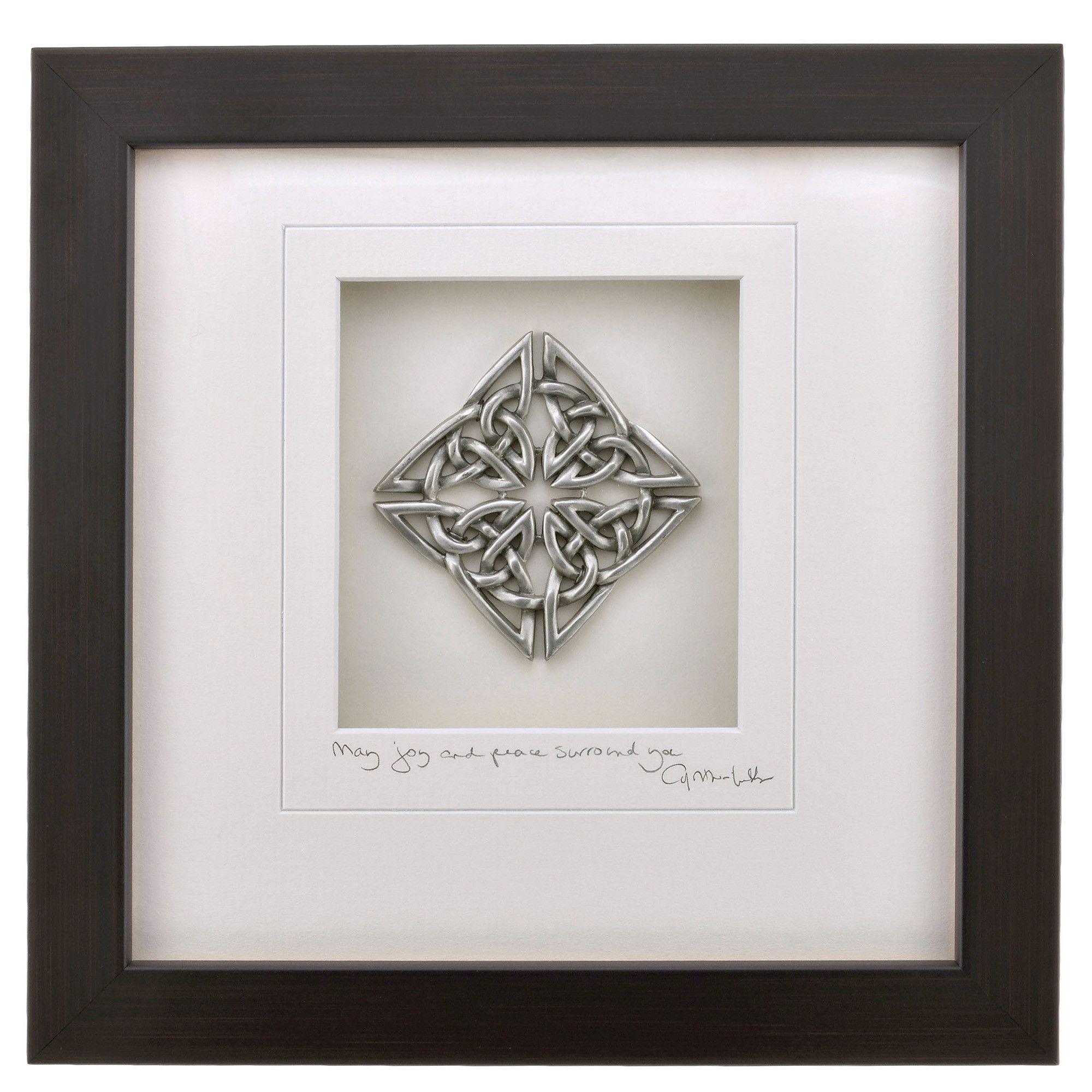 Cynthia webb designs celtic knot pewter wall art celtic knots