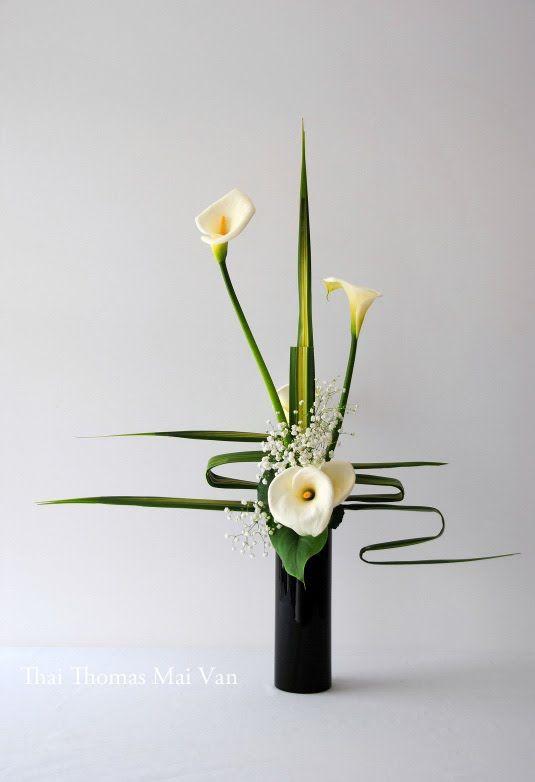 l art floral japonais ikebana thai thomas mai van l a. Black Bedroom Furniture Sets. Home Design Ideas