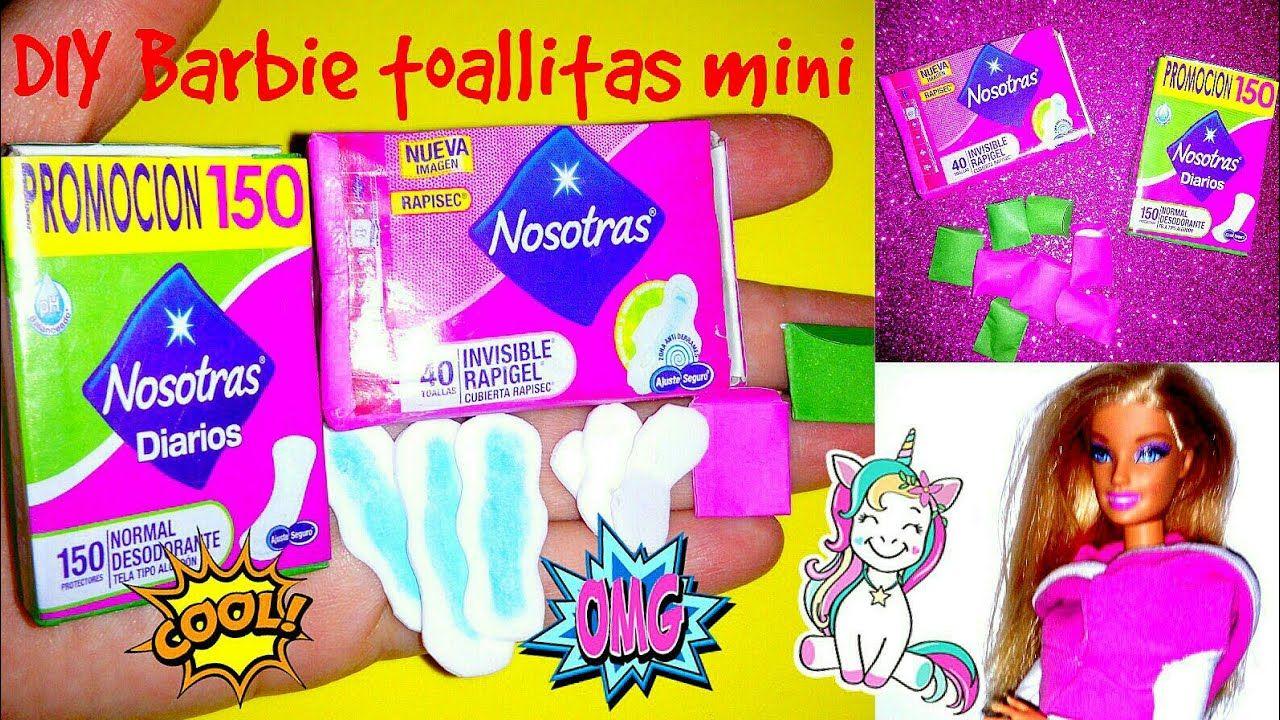 Cosas Y Accesorios Diy Miniaturas Para Casas De Muñecas Barbie Youtube