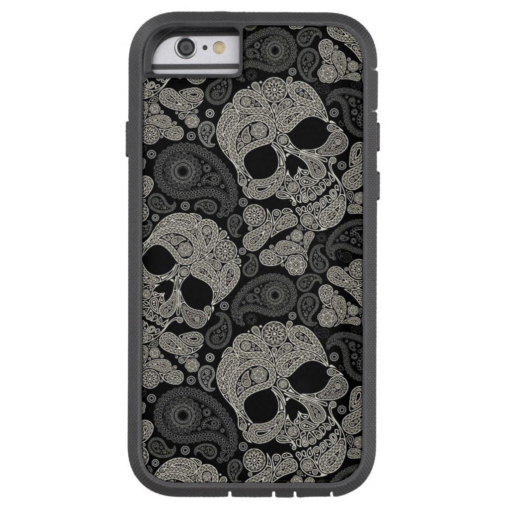 Sugar Skull Pattern Tough Xtreme IPhone 6 Case