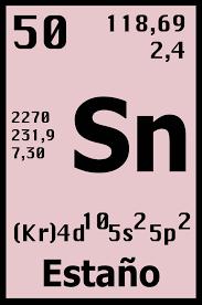 Resultado de imagen para el estano en la tabla periodica resultado de imagen para el estano en la tabla periodica urtaz Images