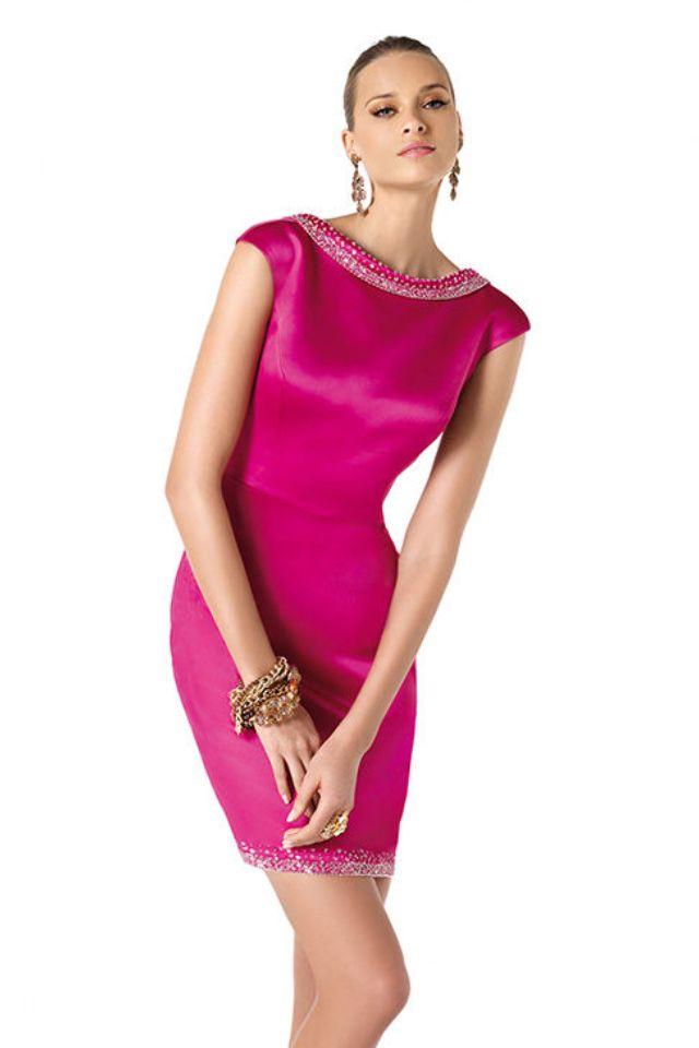 Vestido fucsia | Fashion & Style ;-) | Pinterest | Vestido fucsia ...