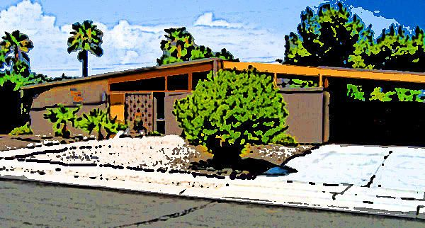MCM Study 1- Candice Riddle      Mid Century Modern Home,Palm Springs, Ca