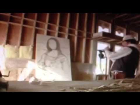 Must See Making Mona Lisa Nail Gun Real Nail Gun Shooting Art