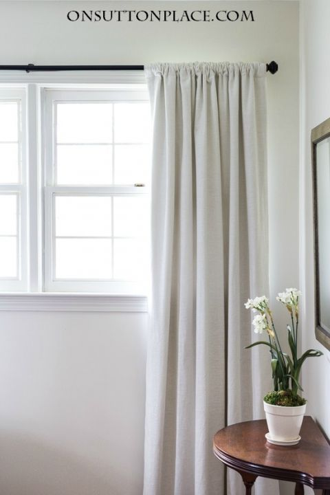 How to Hang Curtains Like a Pro | Projects to Try | Pinterest
