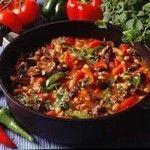 مسقعة اللحم Main Dish Recipes Chili Con Carne Egyptian Food